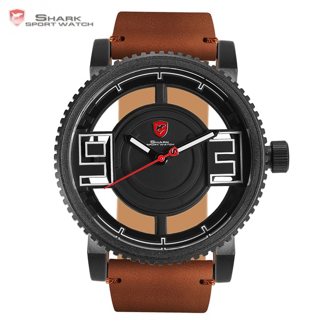 3D Transparent Hollow Dial Design Luxury Watches
