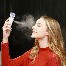 2017 Portable Handy Mist Sprayer Facial Body Nebulizer Steamer Face Skin Care Mini USB Nano Moisturizing Spray Beauty Instrument
