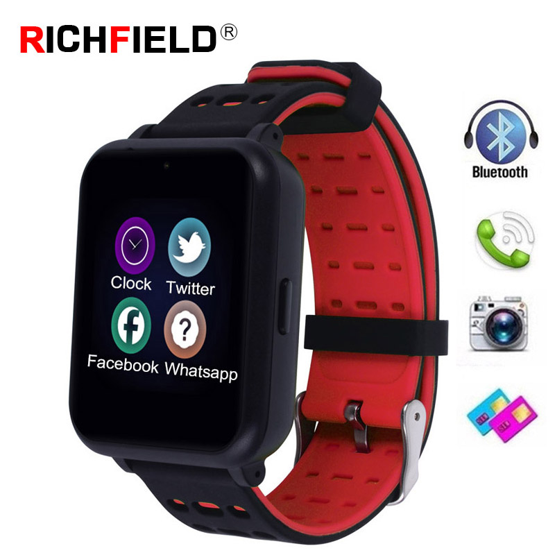 Z2 Bluetooth Smart Watch Whatsapp Sim Card TF watches Sleep Message Call Reminder Sport Band Camera For Android Watch Men Women-in Smart Watches ...