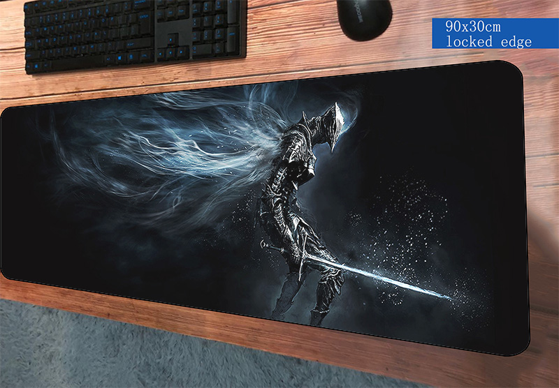 JARKU 90x30cm Dark Souls mouse pad gaming mousepad gamer mouse mat best seller pads computer keyboard padmouse laptop play mats large small size pubg gaming mouse pad pc computer gamer mousepad keyboard wireless mouse mats lock edge notebook laptop mats