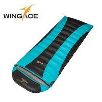 WINACE Fill 2500G Down Outdoor Travel Winter Envelope Sleeping Bag Duck Down Ultralight Sleeping Bag Camping Accessories