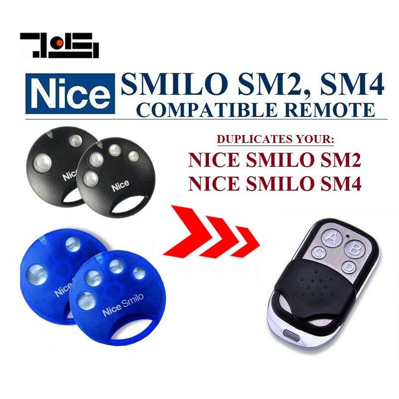 100 pcs  Aftermaket Nice SMILO SM2,SMILO SM4 compatible transmitter  DHL shipping