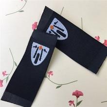 купить Factory Price Custom double density straight cutting sewing labels woven label flag label дешево