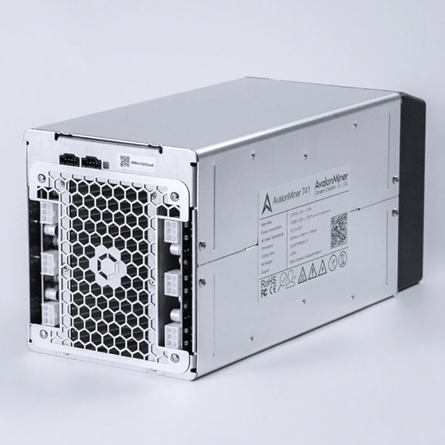 Avalon miner 741 7.3TH/S Power Consumption 1150W At Wall Bitcoin miner Whit Power Supply The Same Quality As The Antminer