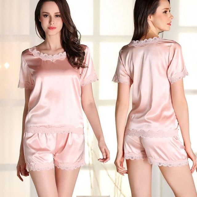 Tylko na zewnątrz Summer Fashion Kobiety Piżamy Piżamy Garnitury Damskie krótki TZ24