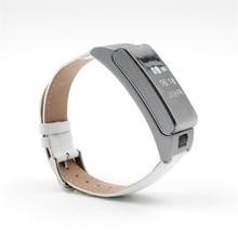 A9 Bluetooth 4 0LE font b smart b font bracelet to achieve Bluetooth call listen to
