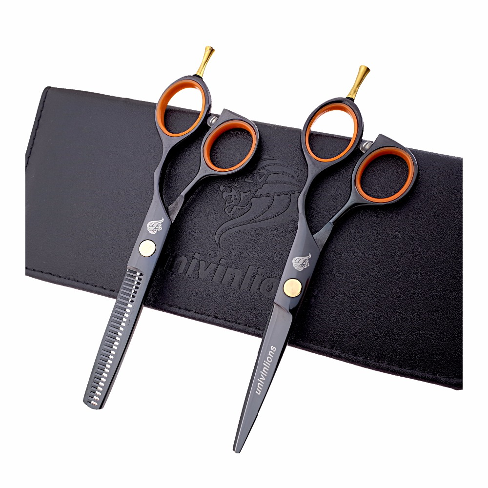 5.5 ciseaux de coiffure professionnels ciseaux de coiffure amincissants ciseaux de cheveux coupés ensemble de ciseaux de coiffure japonais coiffeur cabelereiro
