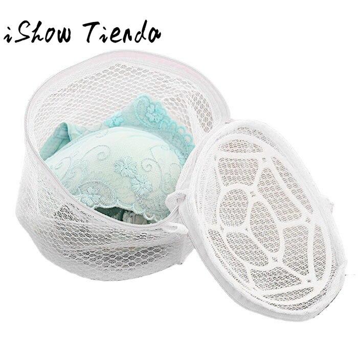Bra Laundry Bag New Lingerie Underwear Bra Sock Laundry Washing Aid Net Mesh Zip Bag Rose Bra Waszak