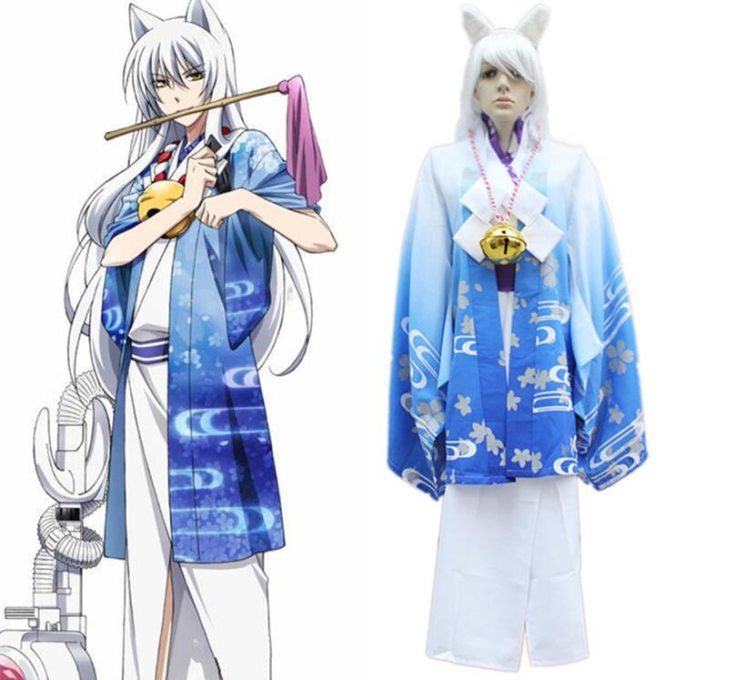 High Quality Men Yin-Xian Cosplay Costume Japanese Cartoon Coplay Costume for Paty Female Fox Fairy Costume 89