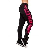 SıCAK 9113 seksi kız kadın hardcore bayanlar pro atlet 3D baskılar egzersiz elastik spor Kadın tayt pantolon artı boyutu