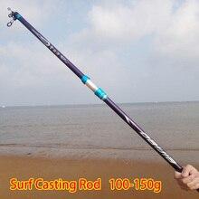 Cheapest prices High Carbon Surf Casting Rod 3.6m 3.9m 4.2m 4.5m 5.4m Long Cast Telescopic Fishing Rod Equipment Canas De Pescar Tackles