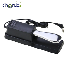 WTB-005 Electric Portable Piano Tuning Tools Damper Sustain Pedal to All Keyboard Instruments Piano Midi Keyboard Pedal Sustain