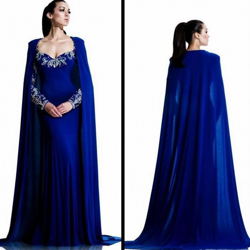 Royal Blue Mermaid Dress Promotion-Shop for Promotional Royal Blue ...