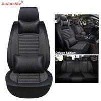 kalaisike Universal Car Seat Covers for Nissan all model note qashqai almera x trail leaf teana juke tiida altima auto styling