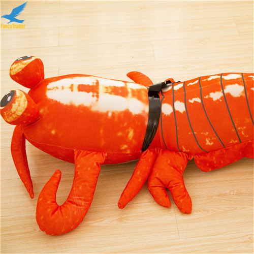 Fancytrader Jumbo Pop Anime Mantis Shrimp Plush Toy Giant Stuffed Soft Simulated Sea Animals Lobster Doll for Adult and Children (10)