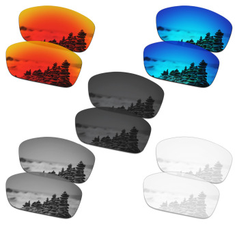 SmartVLT 5 Pairs Polarized Sunglasses Replacement Lenses for Oakley Canteen 2014 - 5 Colors