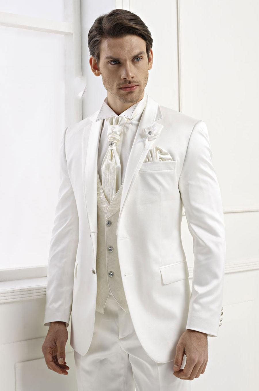 Best White Wedding Suits For Men Ideas - Styles & Ideas 2018 - sperr.us