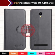 Hot!!In Stock Prestigio Wize O3 3458 Duo Case 6 Colors Leather Exclusive For Prestigio Wize O3 3458 Duo Phone Cover+Tracking цена и фото