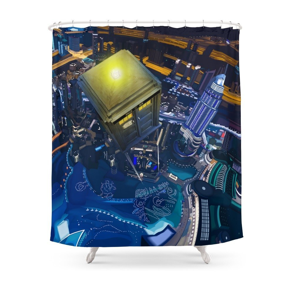 Doctor Who Flying At Modern Starry Night IPhone Pillow Case And ...