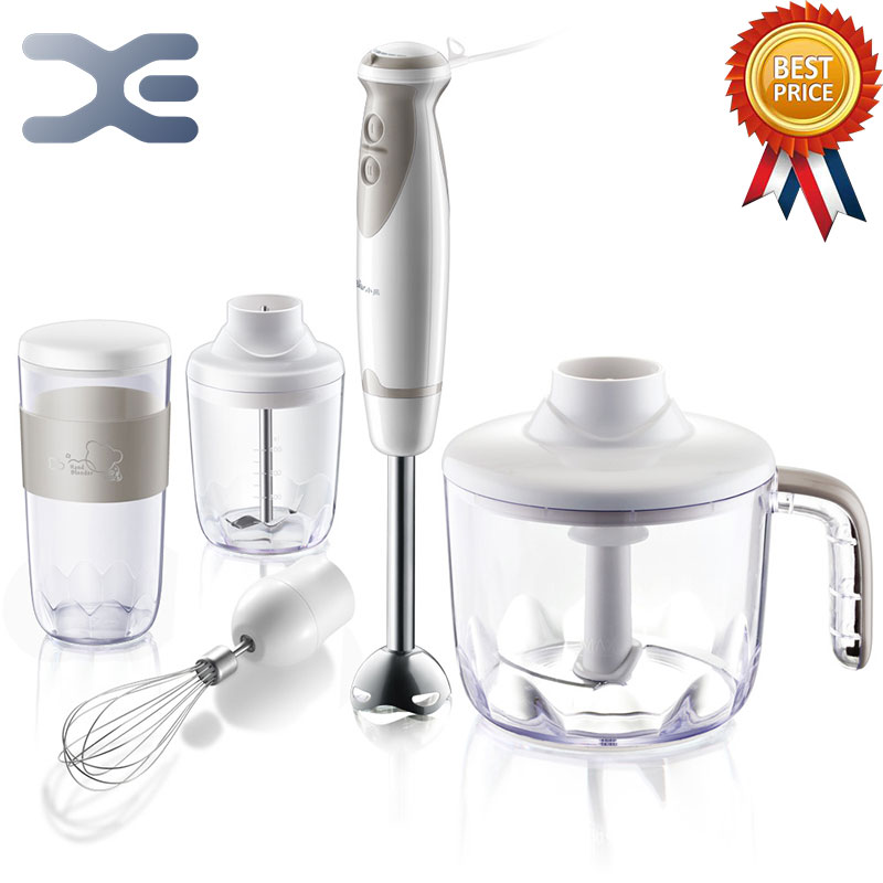 2 Speed Electric Blender Kitchen 5 in 1 Multifunction Food Electric Mikser White Shaker