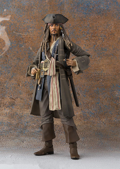 Pirates of the Caribbean Variant Jack Action Figure 1/8 scale painted figure Variable Captain Jack Sparrow PVC figure Toy Anime