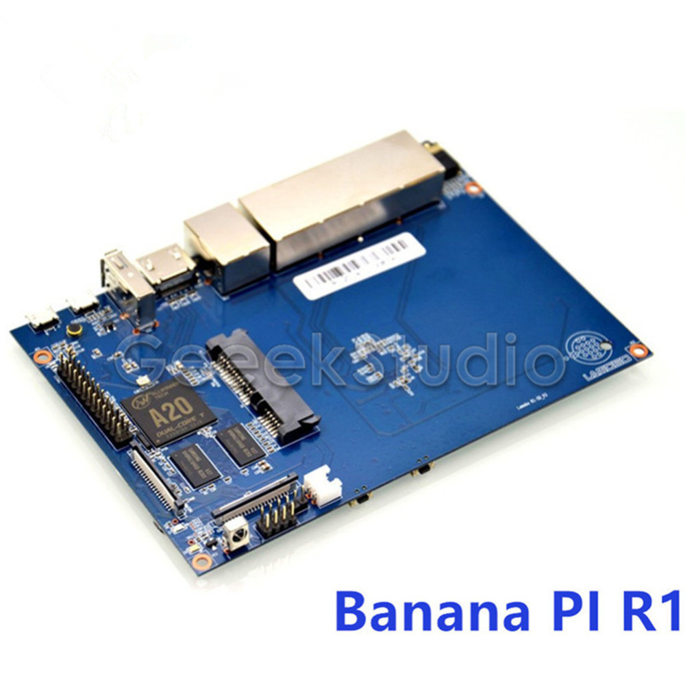 Banana Pi R1 Wireless Router Open Source Development Board BPI-R1 Smart Home Control Plate fast free ship electronic diy programmable console open source game development board for arduino develop