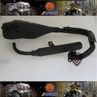 Motorcycle Exhaust Pipe Muffler For Yamaha PW50 PY50 Mini Dirt Bike Free Shipping