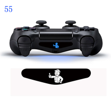 1 pcs # 55 Fall off LED Light Decal For PS4 Controllers Skin sticker for dualshock 4 light bar  Sticker