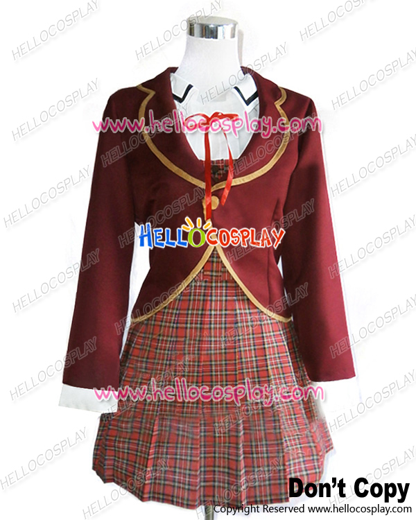 Japanese Anime RWBY Cosplay Outfit Ruby Weiss Blake Yang Shinbiou Academy Uniform Costume H008