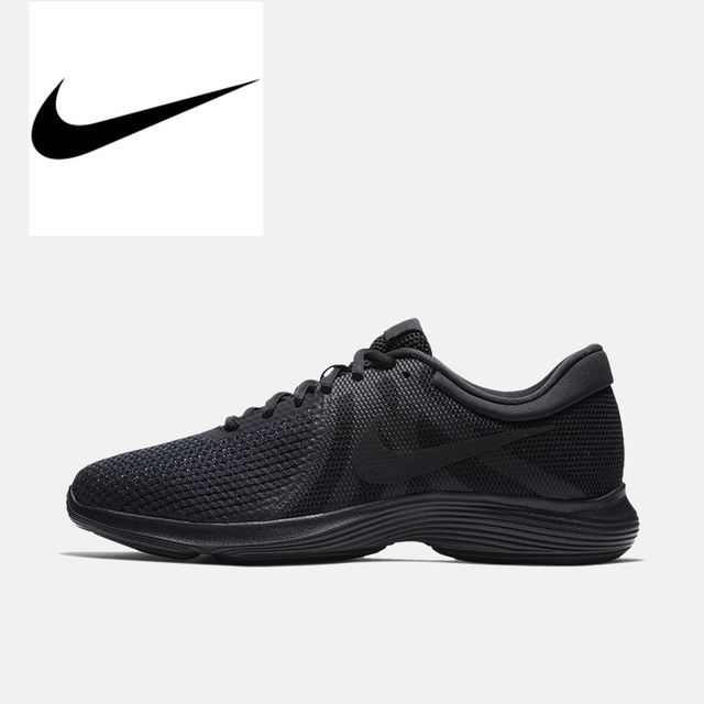 e749d5cf0534 Original Authentic NIKE REVOLUTION 4 Athletic Running Shoes Men Sports  908988-002 Outdoor Walking Jogging comfortable durable