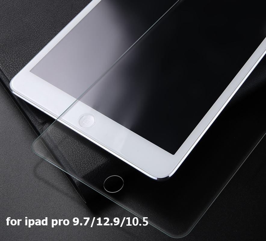 Tempered Glass Screen Protector for 2017 New iPad 5th 2018 6th Generation 9.7