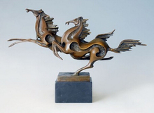 Copper decoration Fine Buddha Brass Best Selling Flying Horse statues Bronze of Horses Statue of the Home Office Business Gifts