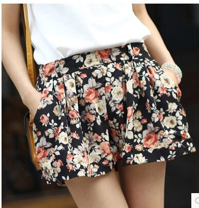 2015 summer shorts female beach pants loose plus size shorts casual dress  pants elastic waist wide leg pants pajama pants-in Pants   Capris from  Women s ... 522f8d6bf363