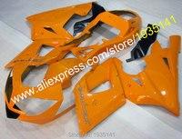 Hot Sales,For Triumph Daytona Fairings Orange black body 600 650 2003 2004 2005 Daytona650 Daytona600 03 04 05 Motorbike parts