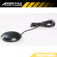 2PCS HIFI PC Multimedia Network Song Capacitance Stereo Desktop boundary Microphone for Online Chat Video Conference