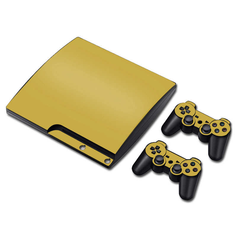 PVC Full Cover skin sticker for PS3 slim Skins Stickers for PS3 slim Game Accessories