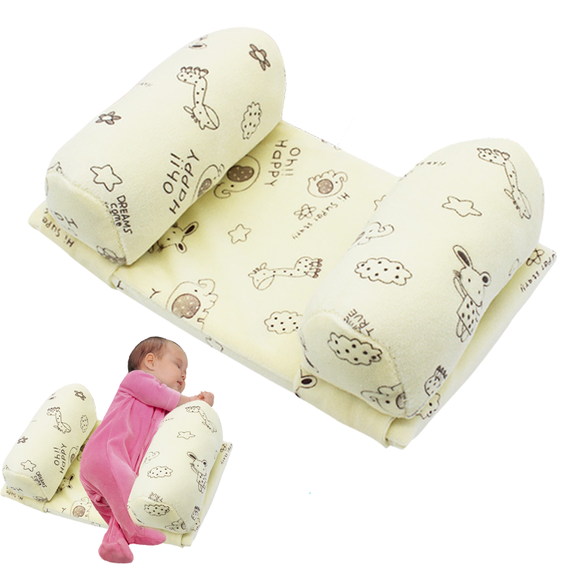 Anti Roll baby pillow todder adjustable infant anti-deviation head sweat - absorbing breathable Safe Sleep Head Positioner