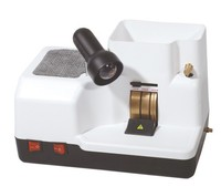 3 Wheels And Eyeglasse Watch Jewelry Polishing Machine With Water Injection Grinder