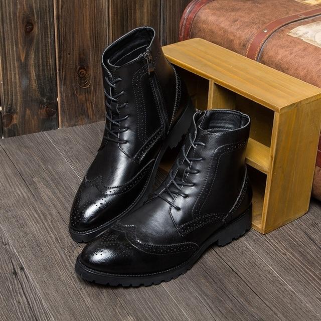 Richelieus cuir avec lacets Noir je81O