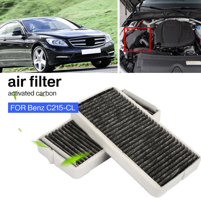 Воздушный фильтр для салона высокого качества Авто воздушный фильтр запчасти для двигателей автомобильный воздушный фильтр кондиционер для BENZ C215-CL