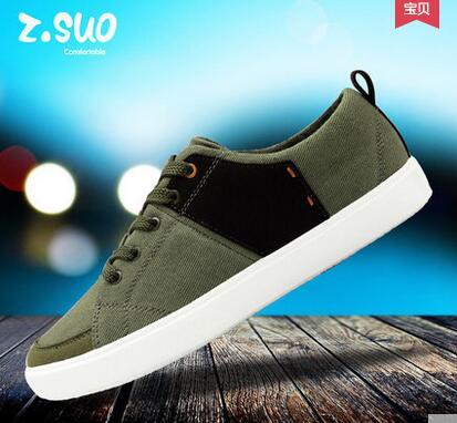 ZSUO ZS156 zapatos de lona transpirables de verano. Zapatos de elevador informales populares para hombre, zapatos de algodón de moda-in Zapatos informales de hombre from zapatos    2