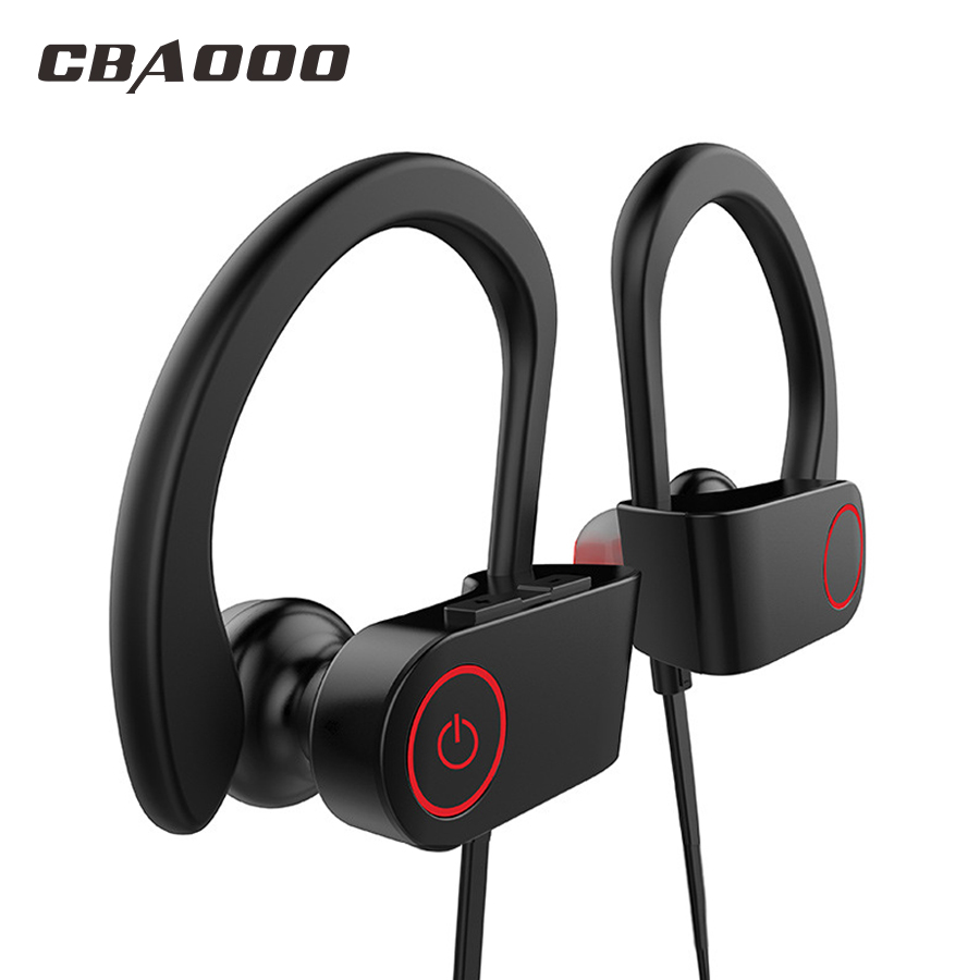 CBAOOO Bluetooth Earphone Wireless Headphone Sport Earphone Waterproof noise reduction Stereo Headset with Microphone cbaooo dt100 wireless bluetooth earphone headphone bass headset sport stereo earbuds headphones with microphone for xiaomi