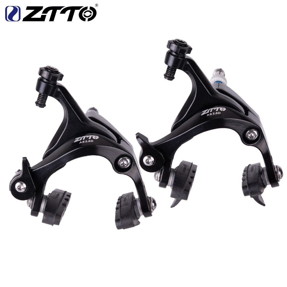 ZTTO AS2.6D Dual Pivot Calipers Aluminum Bike Brake Folding Bicycle  Front Rear