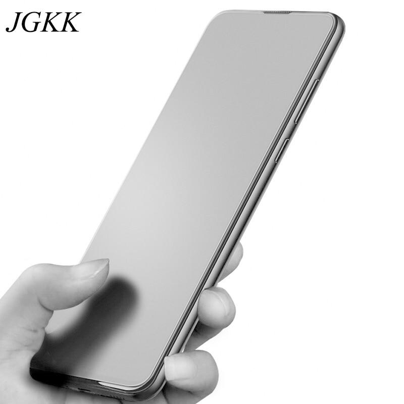 JGKK Opaco Anti Impronta Digitale di Vetro Temperato per OPPO Reno 10x Zoom Protezione Dello Schermo Glassata per Reno 10 x Zoom 9 H Pellicola Protettiva