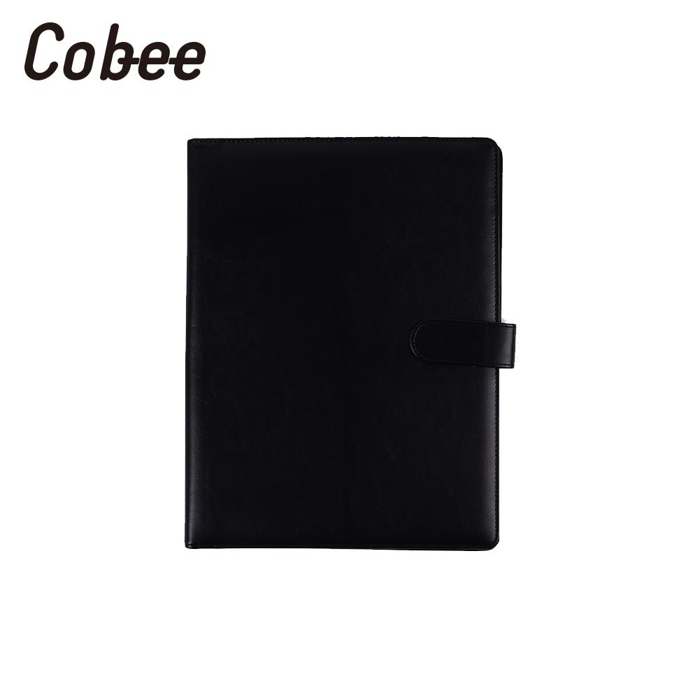 A4 Document Folder PU Leather A4 File Holder Manager A4 File Folder ...