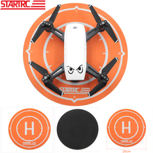 STARTRC DJI mavic air Spark funzione luminosa parcheggio ponte di atterraggio pieghevole 25CM per DJI Mavic Air Spark Drone Pad di atterraggio