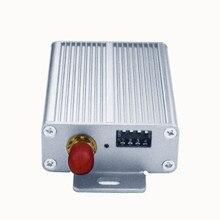 2w lora 433mhz وحدة rs485 اللاسلكية جهاز بث استقبال للترددات اللاسلكية rs232 الارسال والاستقبال 433mhz 30 كجم lora طويلة المدى الاتصالات
