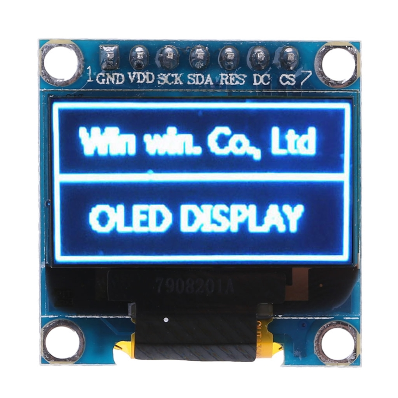 0.96 inch OLED Module Blue Color 128X64 LCD Display SPI Module DIY For Arduino