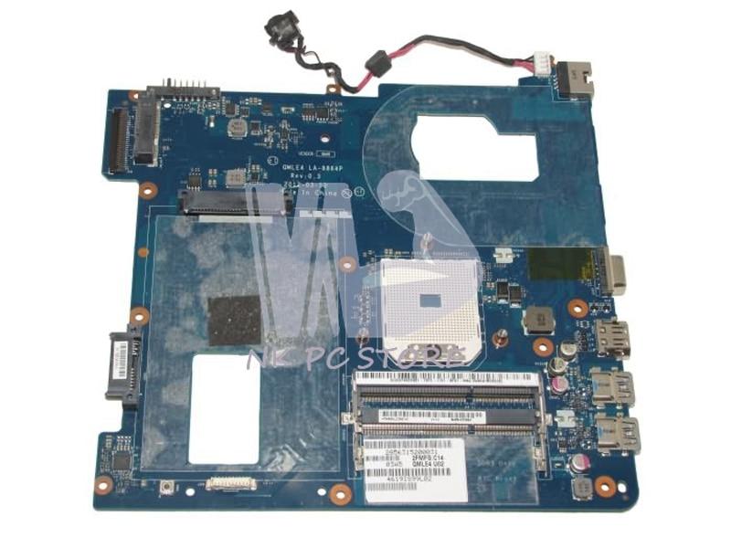 NOKOTION QMLE4 LA-8864P Main Board For Samsung NP365 NP365E5C NP355V5C Laptop Motherboard Socket fs1 DDR3 nokotion 683600 001 683600 501 main board for hp probook 4445s 4545s laptop motherboard socket fs1 ddr3 48 4sm01 011