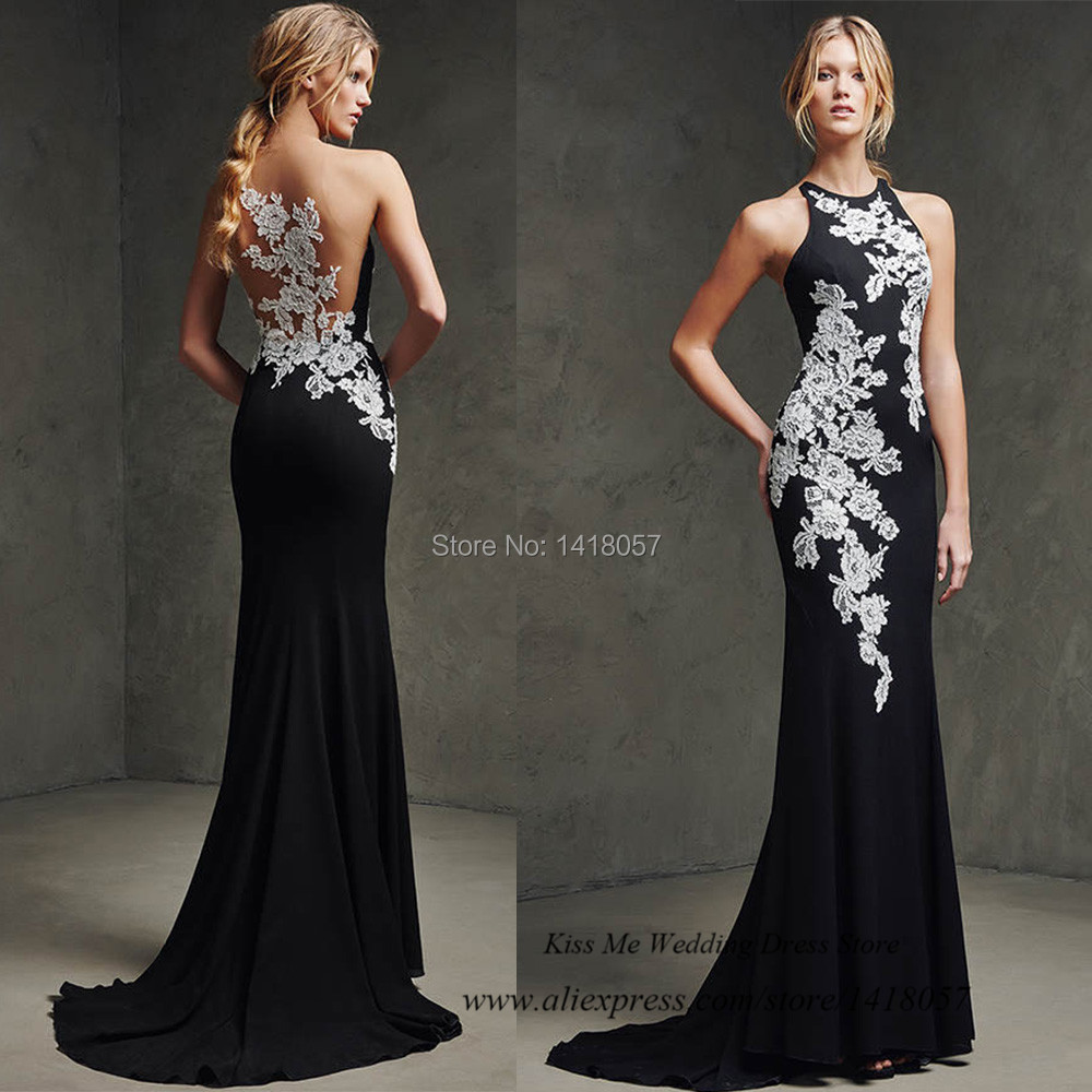 Popular Lace White Evening Gowns-Buy Cheap Lace White Evening ...